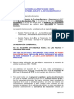 Convocatoria Prácticas PEMEX Semestre 2015-1