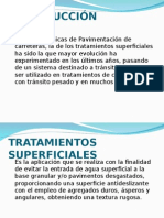 Tratamiento Superficial en Pavimentos