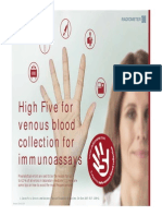 High Five for Venous Blood Sampling_version 20141113A