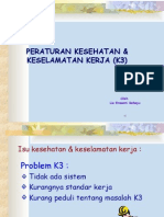 Peraturan K3