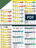 Pricelist April 2015