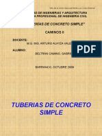 06 - Tuberia de Concreto Simple