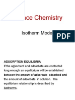 j Adsorption Isotherm Model