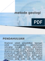 metode eksplorasi geologi