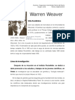 Warren Weaver.
