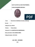 Liderazgo 1er Informe UNI FIM