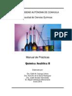 Manual QA-II Enero-junio 2015