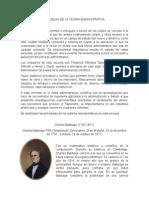 Escuelas de La Teoria Administrativa (Cientifica) - Fundamentos de Administracion