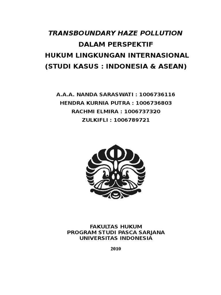 Makalah Hukum Kebijakan Lingkungan Hendra Nanda Rachmi Z