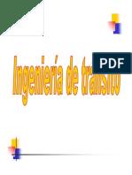 Ingeniera Transito