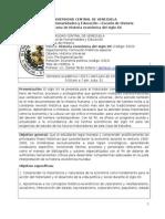 Programa de Historia Económica del Siglo XX