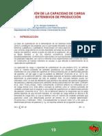 Determinacion de La Capacidad de Carga en Sistemas Extensivos de Produccion Ovina