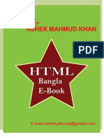 HTML Bangla eBook