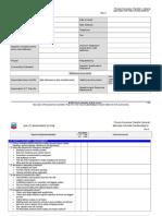 Quality Audit Checklist on Fabricator