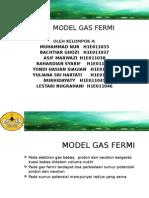 Model Gas Fermi Fixxx