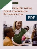 digital media writing