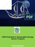CDM Potential in Renewable Energy Sector_Final.ppt