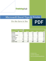 Excel Tips & Tricks E-Book V1.1
