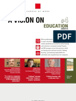 ADP Europe at Work - A vision on Education