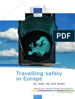 Travelling Safely in Europe by Road, Rail and Water