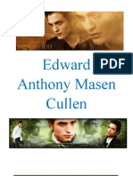 Edward Anthony Masen Cullen Biography