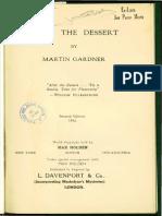 After the Dessert - Martin Gardner