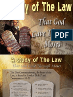 01 Study of the Law of Moses
