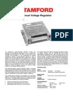 Manual Voltage Regulator STAMFORD