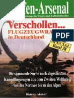 Waffen-Arsenal Sp 38 - Verschollen... Flugzeugwracks in Deutschland
