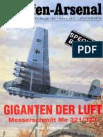 Waffen-Arsenal Sp 06 - Giganten Der Luft. Messerschmitt Me 321-323