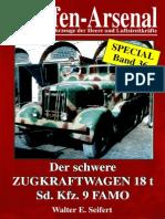 Waffen-Arsenal Sp 36 - Der Schwere Zugkraftwagen 18t Sd.kfz.9 FAMO