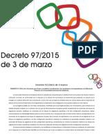 Decreto 97 de 2015