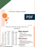 I.2 Geochemistry