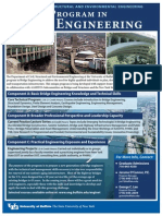 UB Bridge Engineering Masters Degree Web 3-2011
