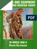 Waffen-Arsenal S-31 - Waffen Und Ausrüstung Der Deutschen Gebirgstruppe Im Zweiten Weltkrieg (ENG.)