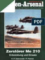 Waffen-Arsenal S-43 - Zerstörer Me-210 Entwicklung Und Einsatz