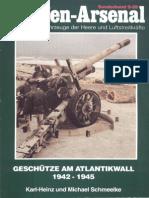 Waffen-Arsenal S-29 - Geschütze Am Atlantikwall 1942-1945
