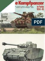 Waffen-Arsenal Sonderheft - Deutsche Kampfpanzer in Farbe 1934-45