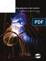 Welding Procedures and Welders WG01 7th November 2012