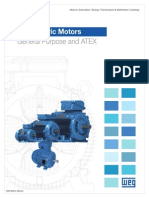 WEG Weg Metric Motors General Purpose and Atex Usametricmo Brochure English