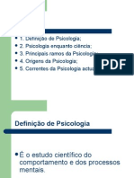 Psicologia Introducao