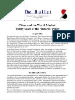 China and the World Market