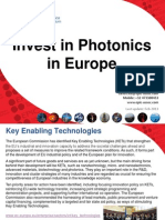 Invest in PhotonicsInvest in Photonics in Europe