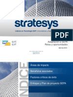 Presentacion STRATESYS Adaptacion SAP Comunicaciones Bancarias SEPA 20130422