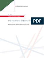 Superiority of economists