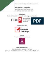 Programa Jornadas sobre Thompson FIM