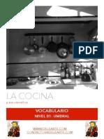 Vocabulario- La Cocina (Nivel B1-Umbral)