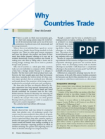 Why Countries Trade