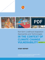 Study Report -Non-farm Livelihood Adaptation Approaches and Technologies in the Context of CC Vulnerability - 2013