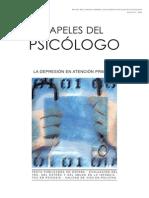 Papeles Del Psicólogo, Vol.33